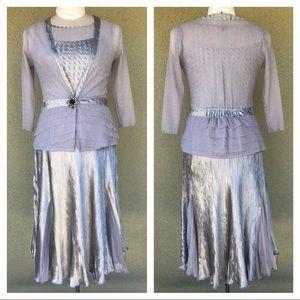 Komarov dress/jacket set